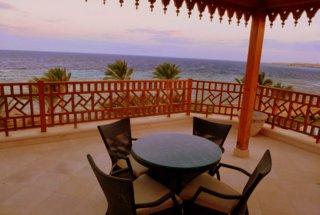 Blick auf das Rote Meer  in Ägypten Sharm el Sheikh