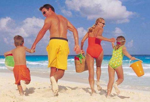 Günstige Ferien mit der Familie am Strand