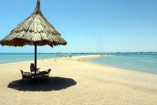 Strandurlaub mit Freunden am roten Meer in Ägypten - Hurghada