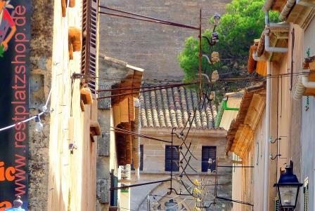 Seitenstrasse in Palma - Last Minute Mallorca - immer eine Reise wert
